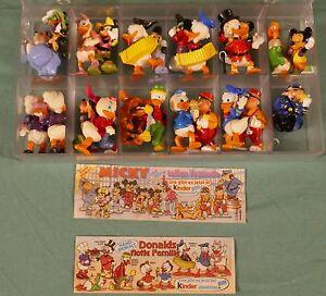 """Walt Disney - collezione """"Topolino Kinder Ferrero"""" 23 personaggi"""
