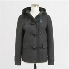NWT~J CREW TOGGLE COAT WOOL PEACOAT~Heather Carbon GREY~ 6 Small(S)~ NEW W/ TAGS