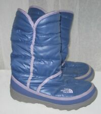The North Face Girls Boots Winter Amore Slip On Purple Size 5