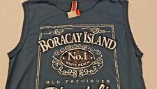 Boracay Island Sleeveless T-Shirt NWOT Large