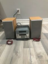 Sony Micro Hi-Fi Mini Component System CMT-RB5 With Speakers