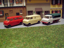 Konvolut Opel Bedford CF Blitz Bus + Transporter + Pritsche 1:87 H0 WIKING K479