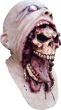 Halloween BLURP CHARLIE HUMAN SKULL ADULT LATEX DELUXE MASK COSTUME