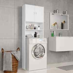 Mobile per Lavatrice da incasso asciugatrice armadio bagno in legno vari colori