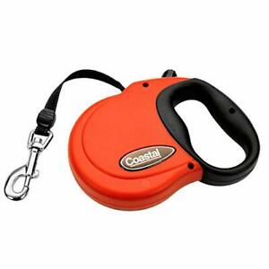 Coastal - Power Walker Dog Retractable Leash, Red, Up to 32 lbs - Small
