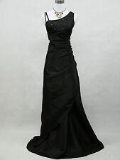 Cherlone Plus Sze Black Ballgown Wedding Evening Full Length Bridesmaid Dress 20
