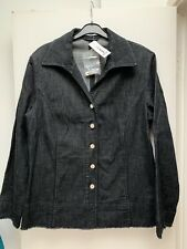 New With Tags hucke Demin Cotton Stretch Jacket 14