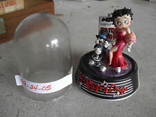 Franklin Mint Betty Boop Singer Sculpture Dome Prototype