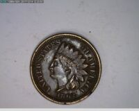 1862 1C Indian Head Cent old penny  ( 62s243 )