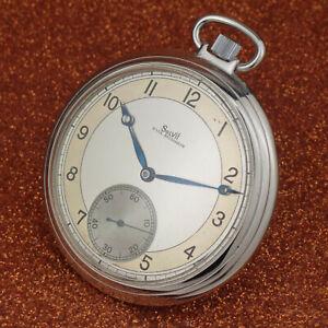 Vintage Pocket Watch SOLVIL-PAUL DITISHEIM - Art Deco Case -Size 50mmØ-from 1925