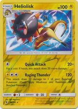 Heliolisk - 44/145 Reverse Holo Foil Rare Pokemon NM Card GUARDIANS RISING