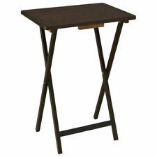 Mainstays PMTB0192205 5 Piece Folding TV Tray Table Set