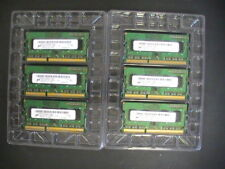 L👀K 6 Micron 2GB 1Rx8 PC3-12800S-11-11B2 MT8JTF25664HZ-1G6M1 RAM Memory Cards