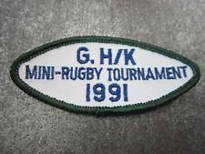 Mini Rugby 1991 Sport Cloth Patch Badge (L13K)