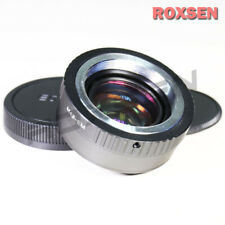 Focal Reducer Speed Booster Adapter M42 mount lens to Canon EOS M EF-M M5 M10