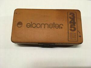 Elcometer 345 Digital Coating Thickness Gauge Inspection Department  1 of 2