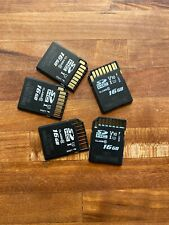 16gb SD Cards Lot Of 5 FREE SHIPPING