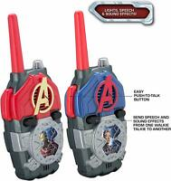 Avengers Walkie Talkies for Kids with Lights and Sounds Kid Friendly Iron Man