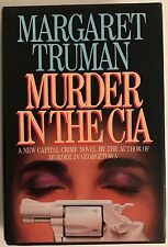 Murder in the CIA by Margaret Truman-First Edition/DJ-1987~VG
