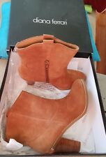 💕💕💕DIANA FERRARI RILO SUEDE Size 8.5 Leather Boots NEW RRP$189.95 💟💟💟