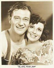 "CARMEN MORALES & JOHN WAYNE in ""The Long Voyage Home"" Original Vintage 1940"