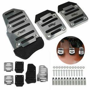 3x Universal Non Slip Automatic Gas Brake Foot Pedal Pad Cover Car Accessories
