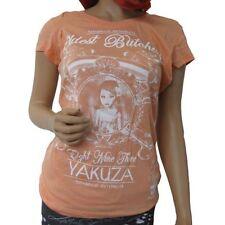 Yakuza Kurzarm Damen-T-Shirts keine Mehrstückpackung
