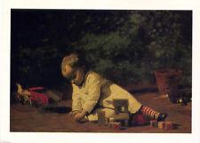 Thomas Eakins•Baby at Play 1876•American Art•National Gallery•4x6 POSTCARD