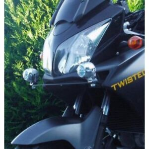 6000K LED Auxiliary Flood Lamps Lights for Suzuki V-Strom ( all years )