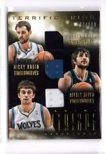 Ricky rubio, Kevin Love, Alexey Shved 2013-14 Intrigue, (Materials), 137/199!!!