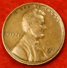 1931-D LINCOLN WHEAT CENT PENNY G-VG COLLECTOR COIN CHECK OUT STORE
