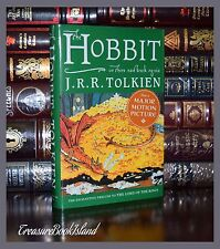 The Hobbit by J.R.R. Tolkien Brand New Illustrated  Collectible Hardcover Gift