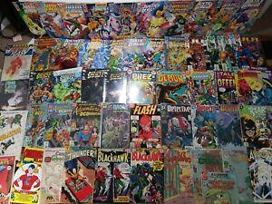Lot of 59 Silver and Bronze Age Batman Flash Justice League Charlton Demon DC #1