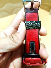Vintage G-shock Black Red Carbon Fiber Negative Screen Special Custom Limited