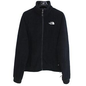 THE NORTH FACE Men's Fleece Jacket Size s Full Zip Black Polartec me4488