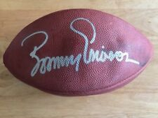 BOOMER ESIASON BENGALS JETS Signed NFL Official Football Ball Does Not Hold Air*
