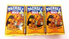 Pacholi Scented Soap by Murray & Lanman 3.35 oz  Pack of 3