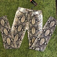 NWT $99 Karen Millen Snake Print Pants Size 4US/8UK