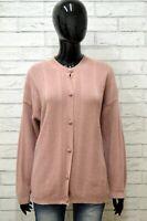 Cardigan Donna STEFANEL Taglia XL Felpa Maglione Pullover Sweater Lana Vintage