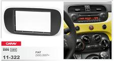 CARAV 11-322 2Din Kit de instalación de radio para FIAT 500 2007+