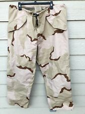 USGI ECWCS GORE-TEX COLD WEATHER DESERT CAMOUFLAGE PANTS - LARGE REGULAR