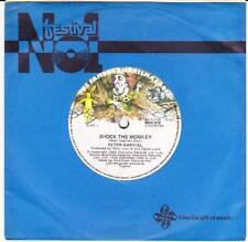 PETER GABRIEL (OZ  45 '82) SHOCK THE MONKEY b/w  SOFT DOG (INST) - AUSTRALIA