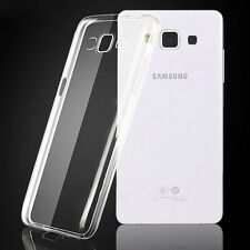 FUNDA GEL TRANSPARENTE PARA SAMSUNG GALAXY E5 E500 SILICONA ULTRA FINA 0,3 mm