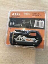 Batterie AEG, 18 V, 4 Ah L1840r li-ion