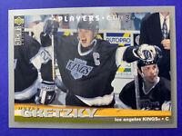1994-95 Upper Deck Collectors Choice Players Club #1 Wayne Gretzky LA Kings
