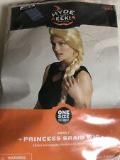 nip-Hyde and Eek-Princess Braid Wig Blonde-Adult-Womens Wig-Halloween-One Size