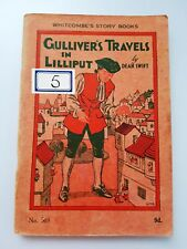 GULLIVER'S TRAVELS IN LILLIPUT Dean Swift No.503 Vintage Whitcombe's Story Books