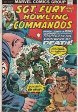 Sgt Fury and His Howling Commandos #120 1974 Bronze Age Marvel War Comic