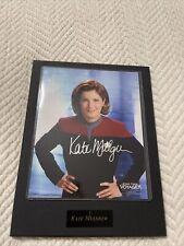 New ListingStar Trek Voyager Kate Mulgrew Signed plaque