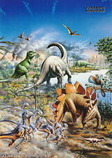 POSTERS : ART: JURASSIC KINGDOM by ADRIAN CHESTERMAN - FREESHIP - #GN0001 LC30 V